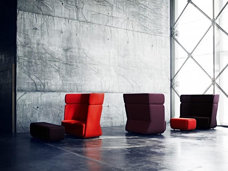 Softline design banken en stoelen bowerkt