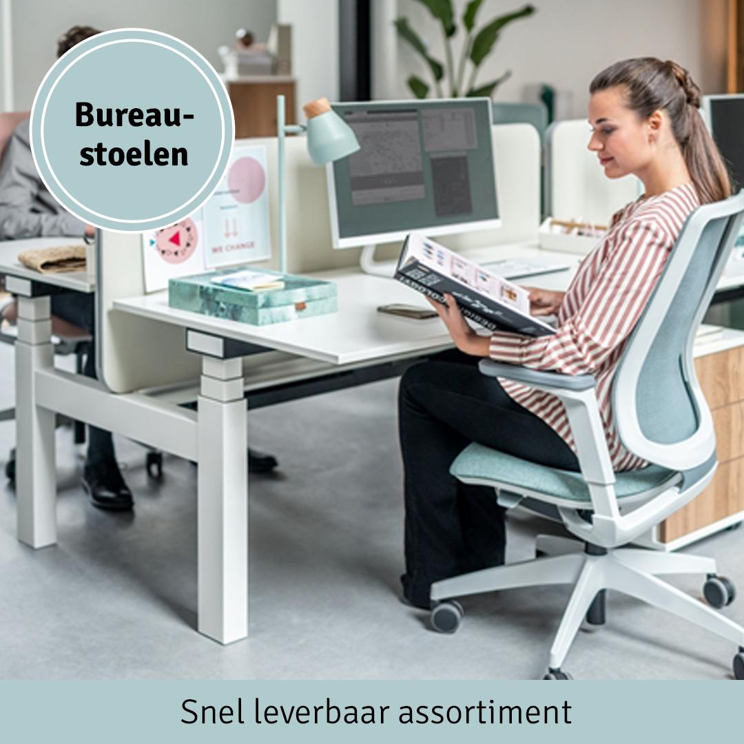 Bureaustoelen - Snel leverbaar assortiment