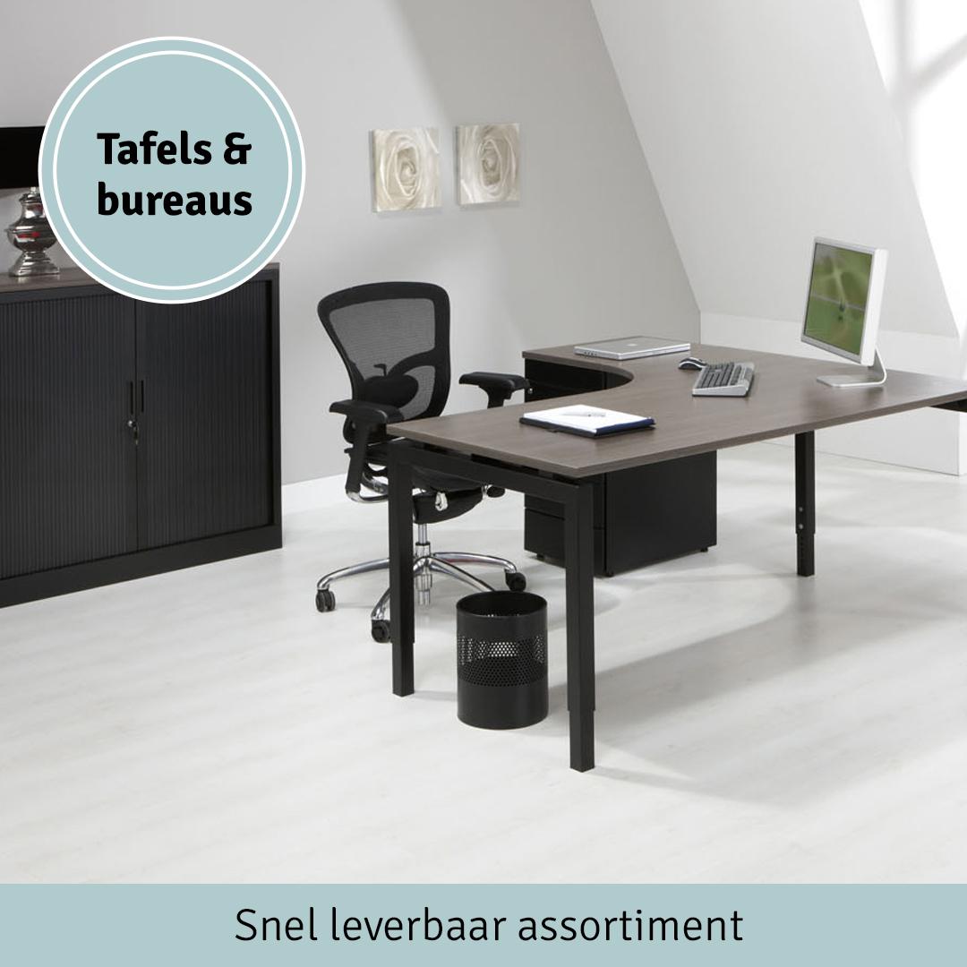 Tafels en bureaus - Snel leverbaar assortiment